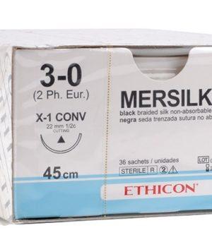 Ράμματα Mersilk 6/0 W815